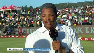 SA v England T20 Series | 1st T20 | Pommie Mbangwa chats to Mike Haysman