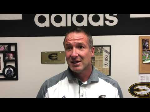 Head ESU Soccer Coach Bryan Sailer on upcoming weekend