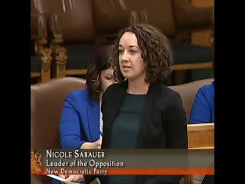 Opposition Leader Nicole Sarauer calls on Sask. Party to respect treaty rights