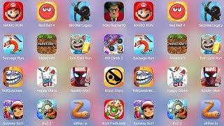 ScaryTeacher3D,Minecraft,StickWar,SpidermanUnlimited,Mario,Brawl Stars,HillClimb,TomRun,Buddy,Subway