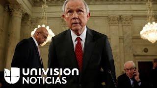 Jeff Sessions defiende sus posturas radicales sobre los inmigrantes en audiencia de confirmación com
