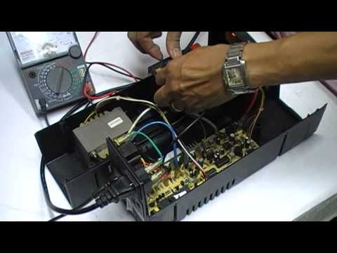 หลักการทำงานเครื่องสำรองไฟฟ้า UPS  (ปฏิบัติ 1)