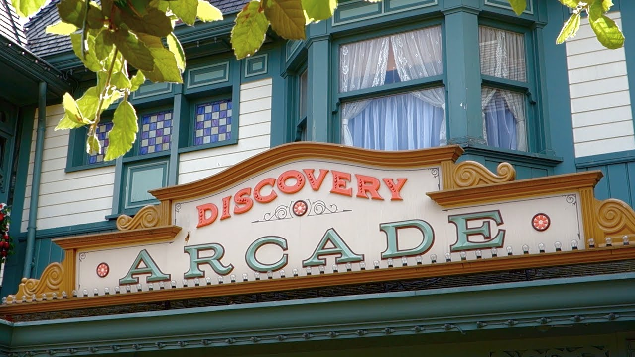 Image result for discovery arcade disneyland paris