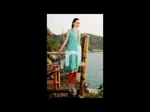 Nisha Fabrics Exclusive Summer Wear Dresses Collection 2014 For Women