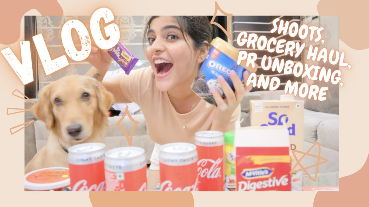 Meeting my BEST FRIEND after 8 MONTHS, Grocery shopping, Huge HAUL & Late night food cravings ||
