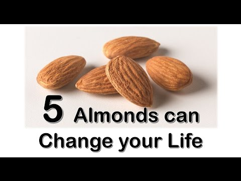 Eat Just 5 Almonds Daily || Soon You Will be Surprise With Awesome Benefits. || You Should Know.