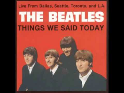 Things we said today - The Beatles - Fausto Ramos