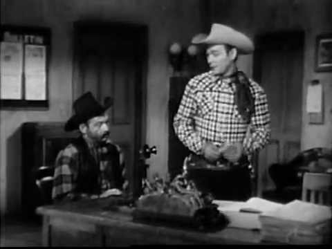 The Roy Rogers  DEAD END TRAIL complete episode