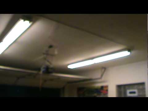 chamberlain 1 2 hp garage door openerChamberlain 12 HP garage door opener  YouTube