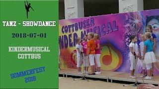Cottbuser Kindermusical Sommerfest 2018 - Nachwuchs 1