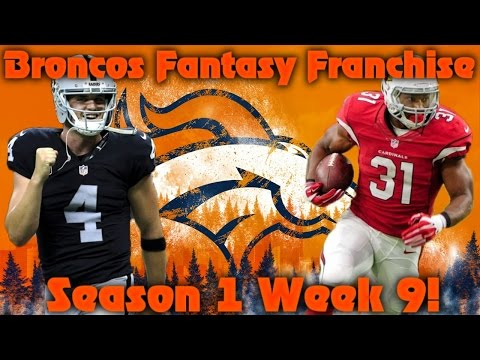Madden 17 Denver Broncos Fantasy Franchise | Season 1 Week 9