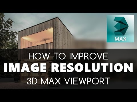 Bad Quality image in viewport 3D Max free tutorials | Learning videos | Education & training