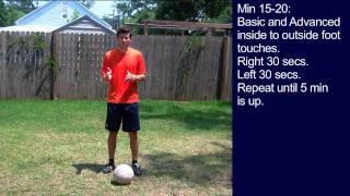 Soccer Training - 30 Minute Soccer Training Session #6 - Online Soccer Academy