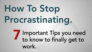 How to stop procrastination in 7 steps! Part-1. Poor-Batman.