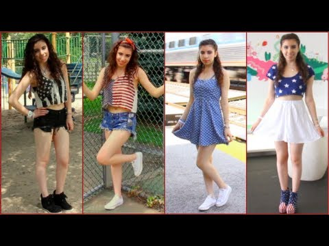 55d6c6b3231c Fourth of July Outfit Ideas! ☆ - YouTube