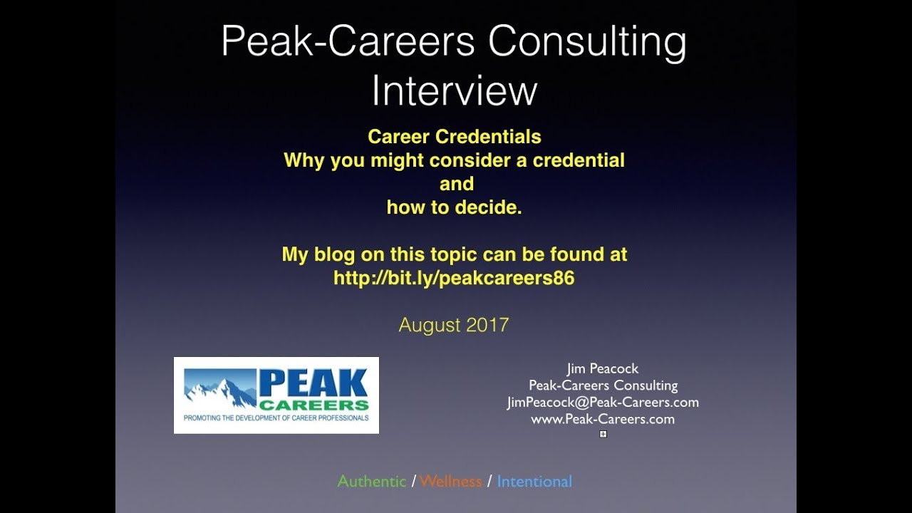 careers interview