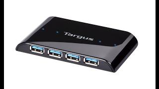 Targus USB HUB - Unboxing amp Review