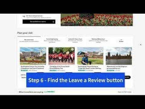 How to leave a review tripadvisor