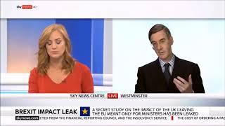 Jacob Rees-Mogg Pushing Back Against Brexit Propaganda