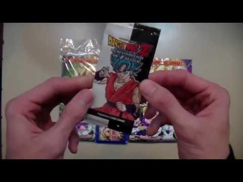 Cartas Dragon Ball Z La Resurrección de Freezer 1 sobre