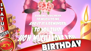 Whatsapp Birthday Videos, Birthday Animation HD, Happy Birthday Wishes, Greetings