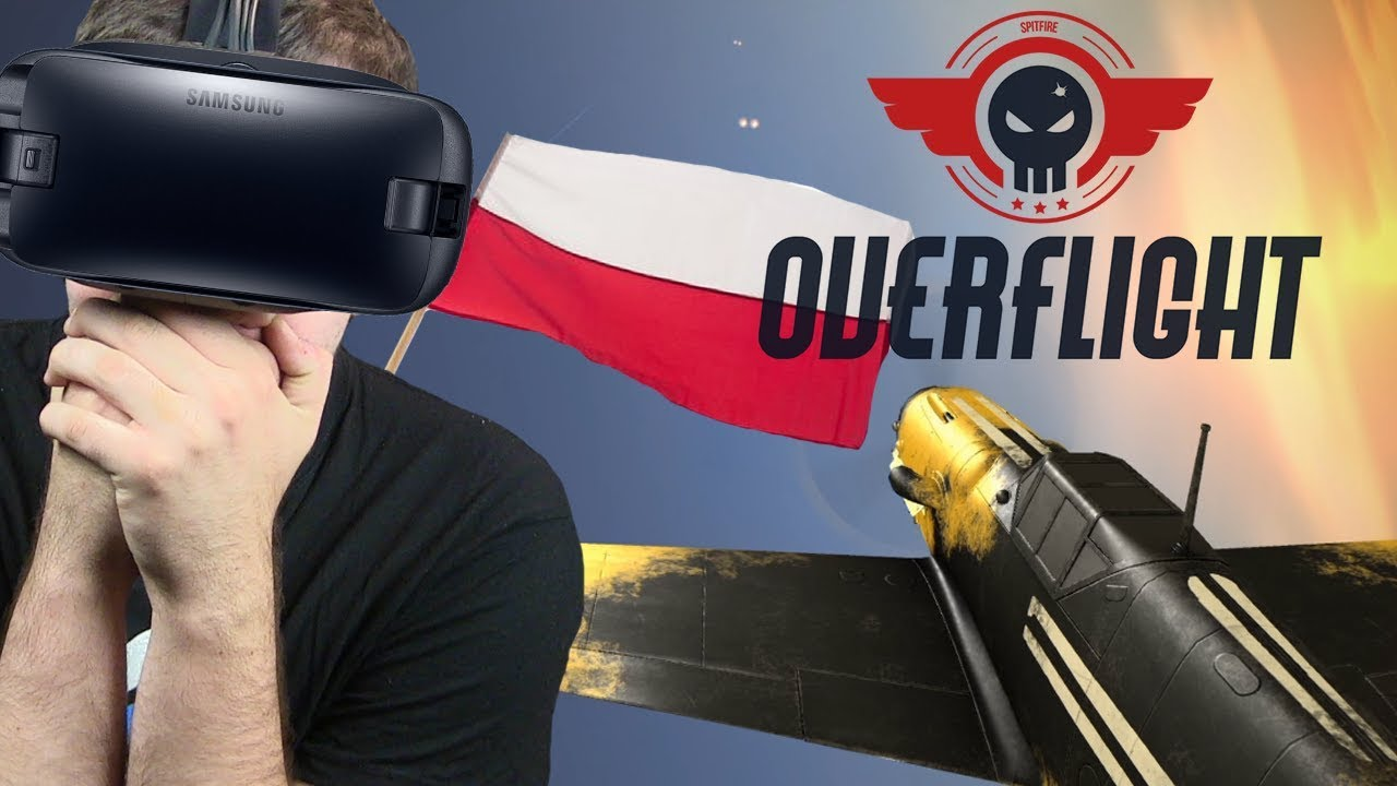POLSKI SYMULATOR BITWY POWIETRZNEJ? – Overflight VR (PGA 2017)