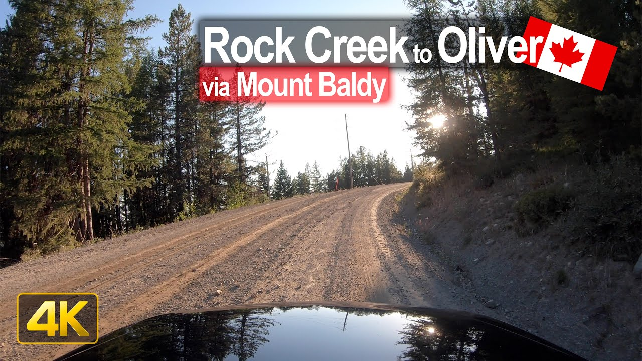 Gravel road drive from Rock Creek to Oliver in British Columbia 🇨🇦