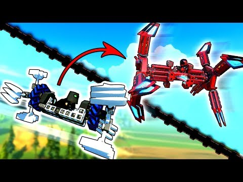 I Copied Kan's Weird Flyer But In The Wrong Game... - Trailmakers Gameplay |