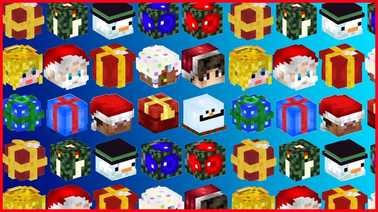Minecraft Best Christmas Decorations How To Get Christmas Mob