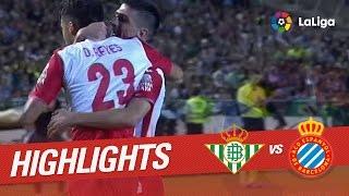 Resumen de Real Betis vs RCD Espanyol (0-1)