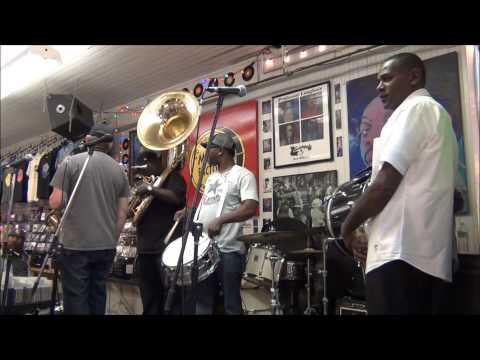 New Birth Brass Band @ Louisiana Music Factory JazzFest 2013