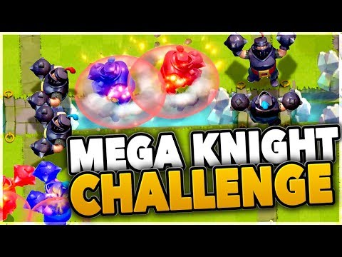 LET'S GET THE MEGA KNIGHT! Clash Royale Mega Knight Challenge