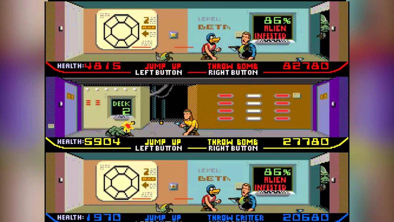 The Attack Arcade Episode 3: Xenophobe - Part 1 - YouTube Xenophobe Game