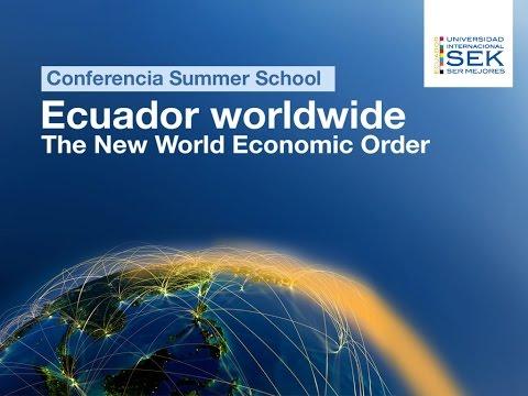 Conferencia The New World Economic Order
