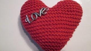 comment tricoter un coeur