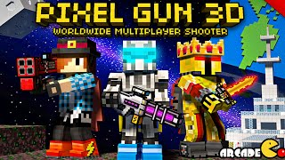 Pixel Gun 3D Multiplayer Shooter - Team Fight Nuclear City
