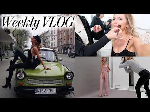 Photoshoots, New Management & 24-hours in Krakow! // BLAIR WEEKLY