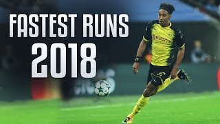 Fastest Football Runs 2017/18 HD