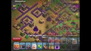 Clash of Clans: Megamasion Level 48 - 3 Star with TH 7 units - (Updated/New May 2014)