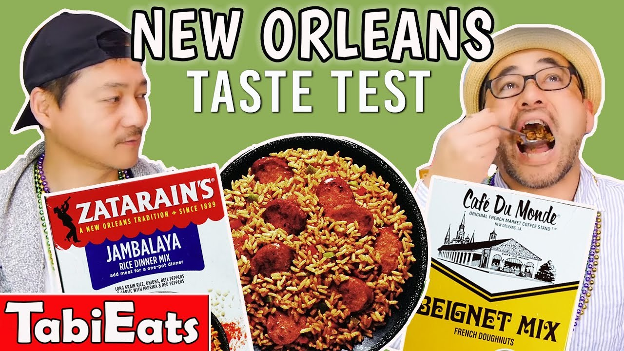 Japanese Try New Orleans Food & Snacks