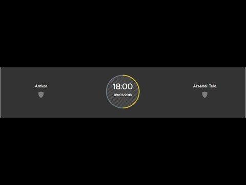 Amkar vs Arsenal Tula  [Russia Premier League]