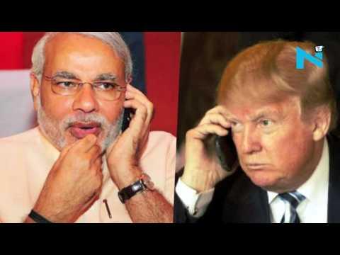 Donald Trump invites Narendra Modi to visit Washington