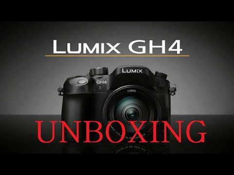 ASMR: Unboxing and test of new camera (Panasonic GH4)