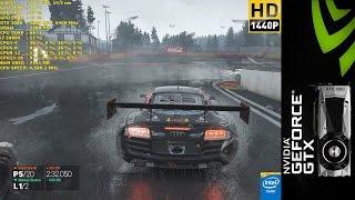 Project Cars Rain Race Ultra Settings 1440p | GTX 1080 FE | i7 5960X 4.5GHz