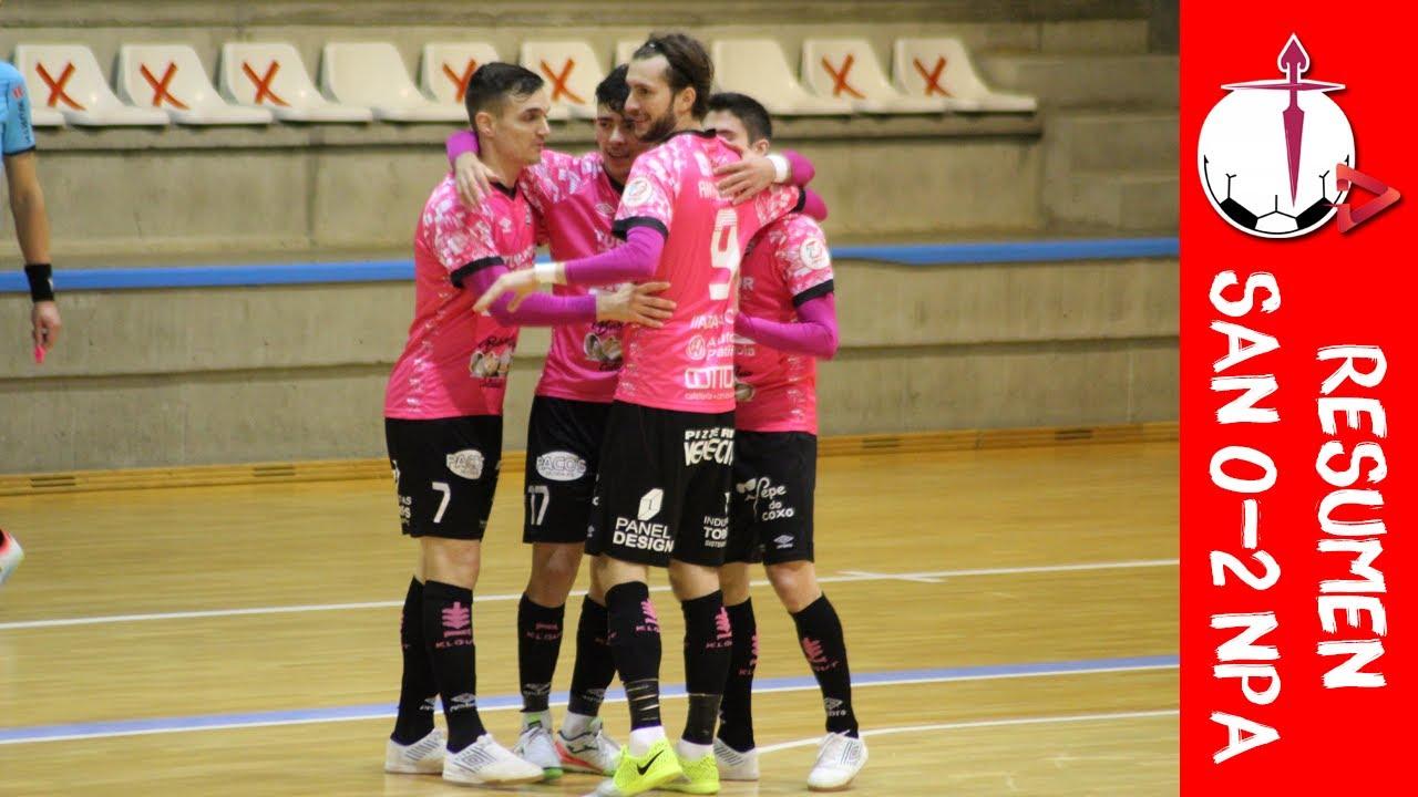 RESUMEN: JERUBEX Santiago Futsal 0-2 Noia PA FS