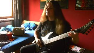 Symphony X - Out Of The Ashes (Guitar Cover with ALL SOLOS)