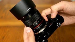 Samyang 50mm f/1.2 AS UMC CS lens review with samples