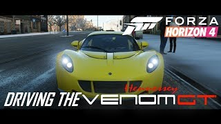 Hennessy Venom - Test Drive in Forza Horizon 4 - Unbelievably Quick!