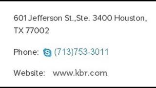 Kbr Inc Corporate Office Contact Information