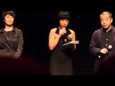 TIFF13  A Touch Of Sin Tian zhu ding  Q&A with Zhangke Jia & Tao Zhao 1 of 2
